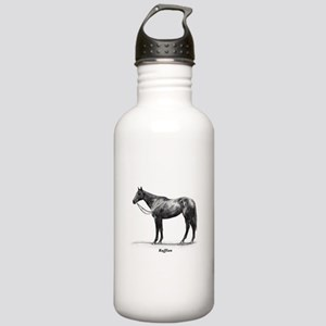 "Thoroughbred ""Ruffian"" Stainless Water Bottle 1.0L"