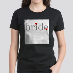 Gray Text Bride T-Shirt