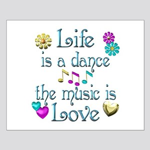 Live Dance Love Small Poster