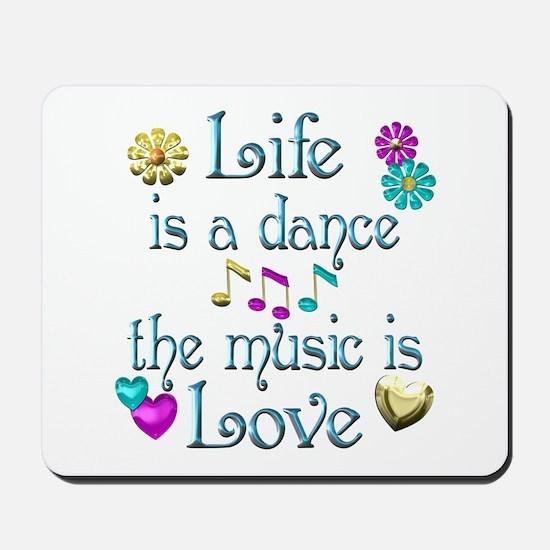 Live Dance Love Mousepad