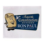 Protect the Constitution Throw Blanket