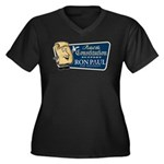 Protect the Constitution Women's Plus Size V-Neck