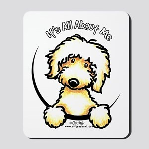 Yellow Labradoodle IAAM Mousepad