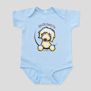 Yellow Labradoodle IAAM Infant Bodysuit