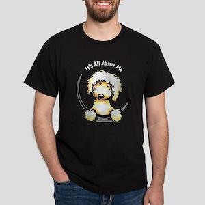 Yellow Labradoodle IAAM Dark T-Shirt