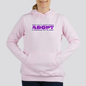 Adopt-purple Sweatshirt