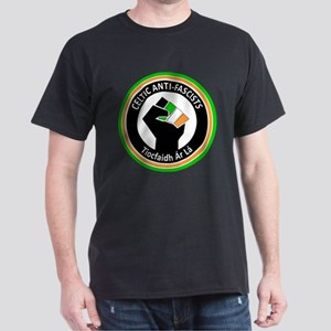 Celtic Antifascists Dark T-Shirt