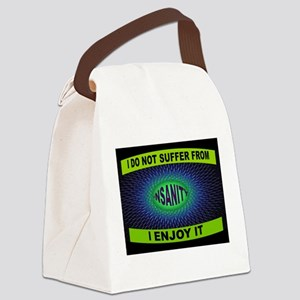 INSANITY Canvas Lunch Bag
