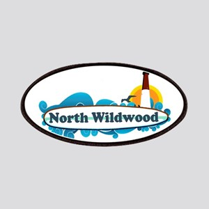 North Wildwood NJ - Surf Design Patches