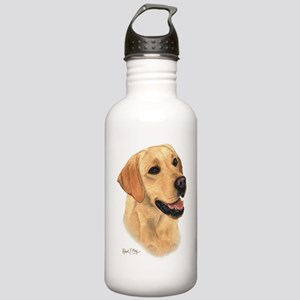 L:abrador Retriever (Yellow) Stainless Water Bottl