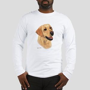 L:abrador Retriever (Yellow) Long Sleeve T-Shirt