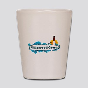 Wildwood Crest NJ - Surf Design Shot Glass