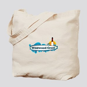 Wildwood Crest NJ - Surf Design Tote Bag