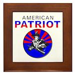 American Patriot Framed Tile