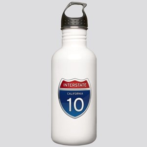 Interstate 10 - California Stainless Water Bottle