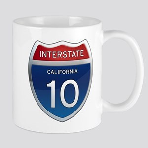 Interstate 10 - California Mug