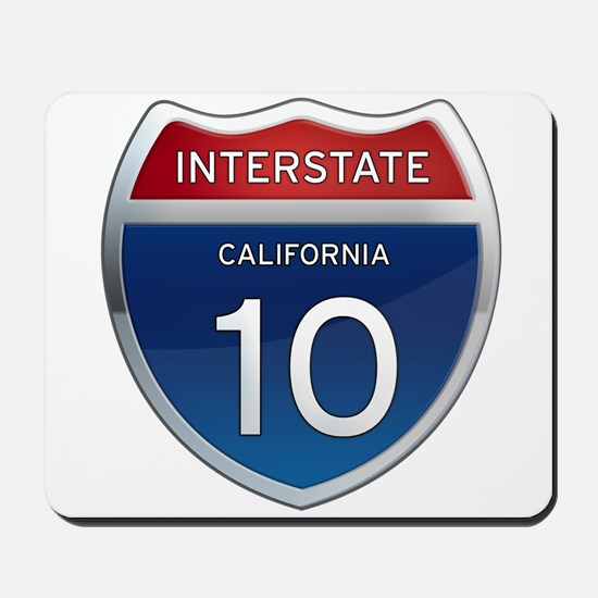 Interstate 10 - California Mousepad