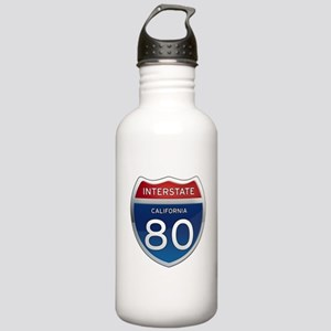 Interstate 80 - California Stainless Water Bottle