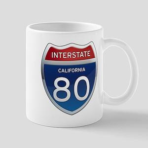 Interstate 80 - California Mug