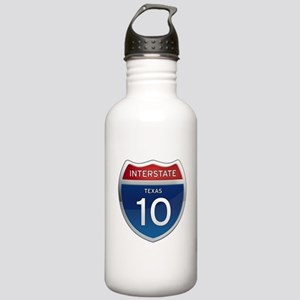 Interstate 10 - Texas Stainless Water Bottle 1.0L