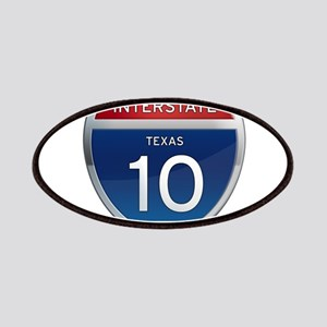 Interstate 10 - Texas Patches