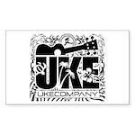 Uke Company HI Sticker (Rectangle)
