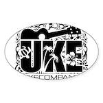 Uke Company HI Sticker (Oval)