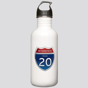 Interstate 20 - Texas Stainless Water Bottle 1.0L