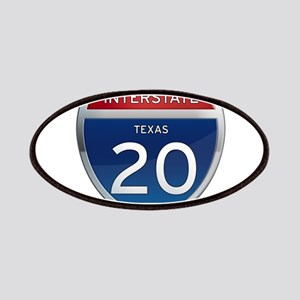 Interstate 20 - Texas Patches