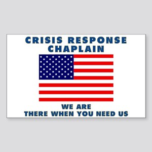 Crisis Response For All Sticker (Rectangle 10 pk)