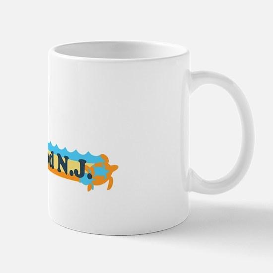 Wildwood NJ - Beach Design Mug