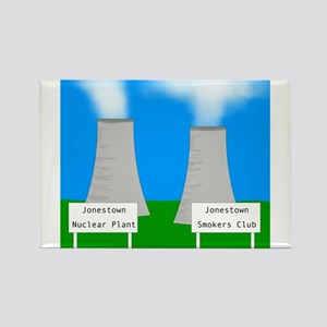 Nuclear smoking Rectangle Magnet (100 pack)