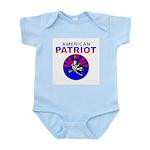 American Patriot Infant Creeper