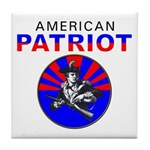 American Patriot Tile Coaster