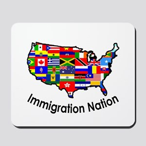 USA: Immigration Nation Mousepad