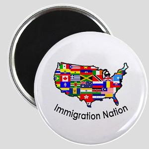 USA: Immigration Nation Magnet
