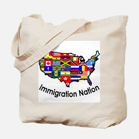 USA: Immigration Nation Tote Bag