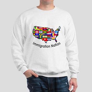 USA: Immigration Nation Sweatshirt