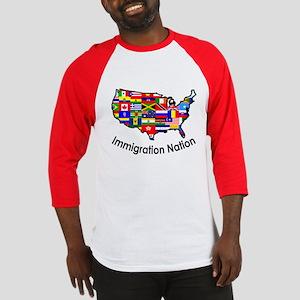 USA: Immigration Nation Baseball Jersey