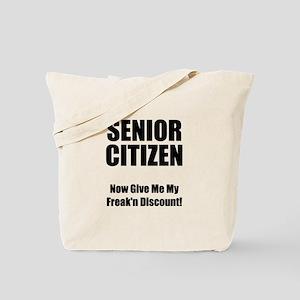 Senior Citizen Tote Bag