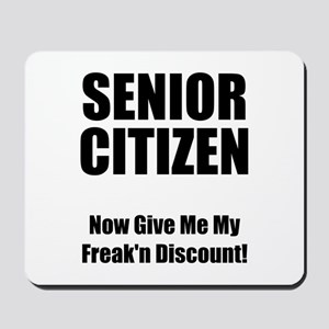 Senior Citizen Mousepad