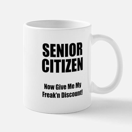 Senior Citizen Mug