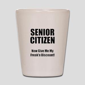 Senior Citizen Shot Glass