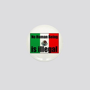 Human beings arent illegal Mini Button