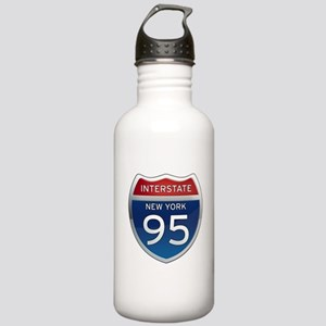 Interstate 95 - New York Stainless Water Bottle 1.