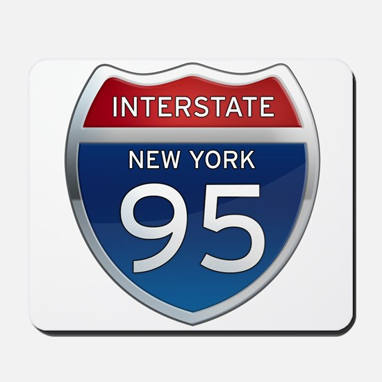 Interstate 95 - New York Mousepad