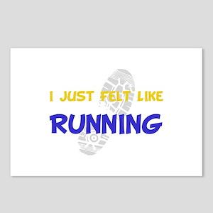Felt Like Running Postcards (Package of 8)