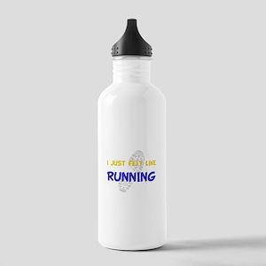 Felt Like Running Stainless Water Bottle 1.0L