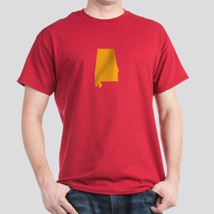 Orange Alabama Dark T-Shirt