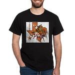 Texas Cowboy & Longhorn Black T-Shirt
